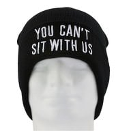 Beanie Mütze Slouch Damen Herren Winter Mützen - You CAN'T SIT WITH US