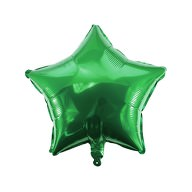 Folien Luftballon Stern Form Kinder Geburtstag Silvester Party JGA Hochzeit Schuleinführung - grün
