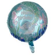 Folien Luftballon Happy Birthday Meerjungfrau Unterwasserwelt Motive Kinder Geburtstag Mädchen Deko