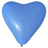 Herz Luftballons Hochzeit JGA Deko Ballon - blau