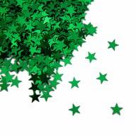 Stern Konfetti Über 500 Stk Tischdeko Weihnachten Fasching Party - grün