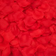 100 Rosenblätter Rosenblüten Hochzeit Deko Valentinstag Rose - rot