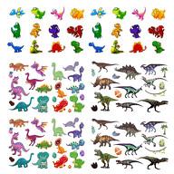 Dino Kinder Tattoo Set 94 Stück Dinosaurier Tattoos zum Spielen für Jungs zum Kindergeburtstag