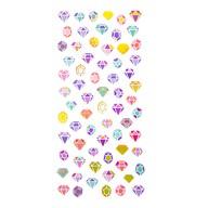 Diamanten Sticker Set Vintage Style Retro Edelsteine Aufkleber Scrapbooking Basteln