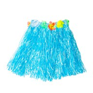 Hula Rock Hawaii-Rock Damen Hawaii Party Beachparty Fasching Karneval Mottoparty - blau