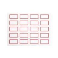 240 Vielzweck Etiketten zum Beschriften Kennzeichnen Selbstklebend Haushalt Büro