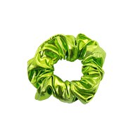 Scrunchie Haargummi Zopfgummi Haarband für Mädchen Damen 80er Jahre 80s Motto Kostüm Party - grün