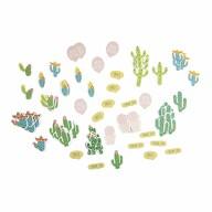 72 Kaktus Kakteen Sticker Sommer Aufkleber für Verzierung Scrapbooking Deko