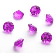 Deko Diamanten Dekosteine Tischdeko Dekoration 20mm - pink