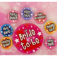 Button Set JGA Junggesellinnenabschied Braut Hochzeit - Bride to be