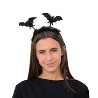 Fledermaus Haarreifen Horror Halloween Karneval Fasching Kostüm Accessoire