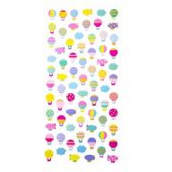 Ballon Sticker Set Vintage Style Retro Aufkleber Scrapbooking Basteln Geschenk Deko