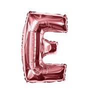 Folien Luftballon Buchstabe E Geburtstag JGA Hochzeit Party Deko Ballon - roségold