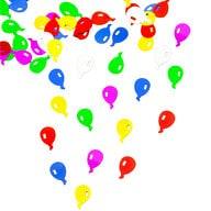 Konfetti Ballons Streudeko Streuteile Deko 14g - bunt