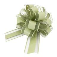 Geschenkschleife Matt Deko Schleifen für Geschenke Tüten  uvm - grün