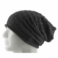 Long Beanie Mütze XXL Damen Herren Kinder Winter Mützen - grey