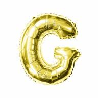 Folien Luftballon Buchstabe G Geburtstag goldene Hochzeit Party Deko Ballon - gold