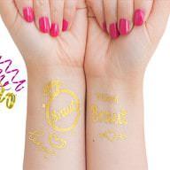 Temporäre Klebetattoos Tattoo Set Junggesellinnenabschied Jga