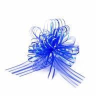 Geschenkschleife mit Geschenkband Groß Deko Schleife - dunkelblau