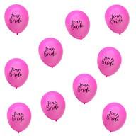 10x Luftballons Team Bride JGA Junggesellinnenabschied Deko - pink