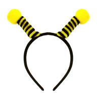 Haarreifen Biene Hummel Haarreif mit Bommeln für Karneval Fasching Motto Party Bienenkostüm