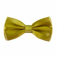 Kinder Fliege Schleife verstellbar Hochzeit Anzug Smoking - goldgrün