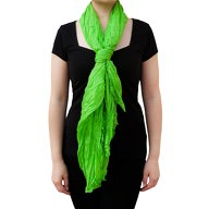 Tuch Schal Chiffon Stola Fashion Outfit Damen Tücher - hellgrün