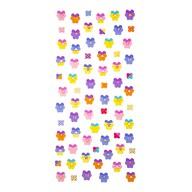 Blumen Sticker Set Vintage Style Retro Aufkleber Scrapbooking Basteln Geschenk Deko