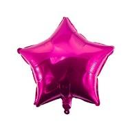 Folien Luftballon Stern Form Kinder Geburtstag Baby Shower Mädchen Party JGA Hochzeit - pink