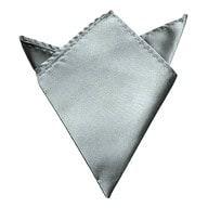 Einstecktuch Kavalierstuch Stecktuch Business Hochzeit - grau