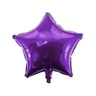 Folien Luftballon Stern Form Kinder Geburtstag Baby Shower Mädchen Party JGA Hochzeit - lila