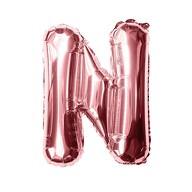 Folien Luftballon Buchstabe N Geburtstag JGA Hochzeit Party Deko Ballon - roségold