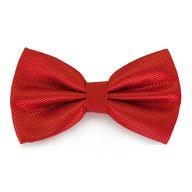 Fliege Schleife kariert Hochzeit Anzug Smoking - rot