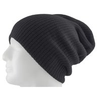 Long Beanie Mütze XXL Damen Herren Kinder Mützen Winter - dark grey