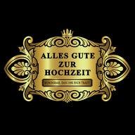 Flaschenetikett Aufkleber Sticker gold elegant - Hochzeit