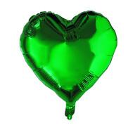 Folien Luftballon Herz Form Kinder Geburtstag Baby Shower Mädchen Jungs Party JGA Hochzeit - grün