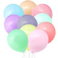 10 Luftballons Kinder Geburtstag Party Deko Ballons Baby Shower Einschulung JGA - bunt pastellfarben