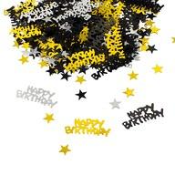 Konfetti Happy Birthday Geburtstag Jubiläum Streudeko Streuteile Deko 500 Stk