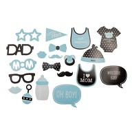 20 Fotorequisiten Fotoaccessoires Baby Shower Party Neugeborene Junge