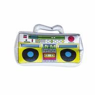 Boombox Radio aufblasbar für Pool Strand Fasching Karneval Motto Party 80s 80er Jahre Deko