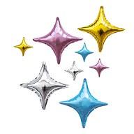 8 Folien Luftballons Stern Form Geburtstag Silvester Party JGA Farbmix