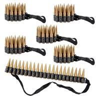 6x Patronengürtel Kinder Spielzeug Munitionsgürtel Kindergeburtstag Soldat Cowboy Kostüm Fasching Karneval