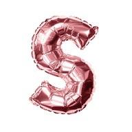 Folien Luftballon Buchstabe S Geburtstag JGA Hochzeit Party Deko Ballon - roségold