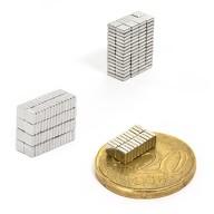 Neodym Magnet N38 3 x 3 x 1 mm