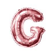 Folien Luftballon Buchstabe G Geburtstag JGA Hochzeit Party Deko Ballon - roségold