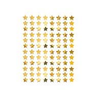 960 Sterne Sticker Stern Aufkleber für Weihnachten Weihnachtsdeko Geschenkdeko Basteln Glänzend - gold