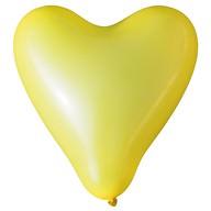 Herz Luftballons Hochzeit JGA Deko Ballon - gelb