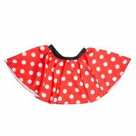 Frauen Damen Ballon Rock rot weiß Gepunktet Kostüm Accessoire Fasching Karneval
