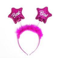 Haarreif Haarreifen Braut JGA Junggesellinnenabschied pink