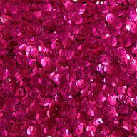 1400 Pailletten Konfetti gewölbt pink